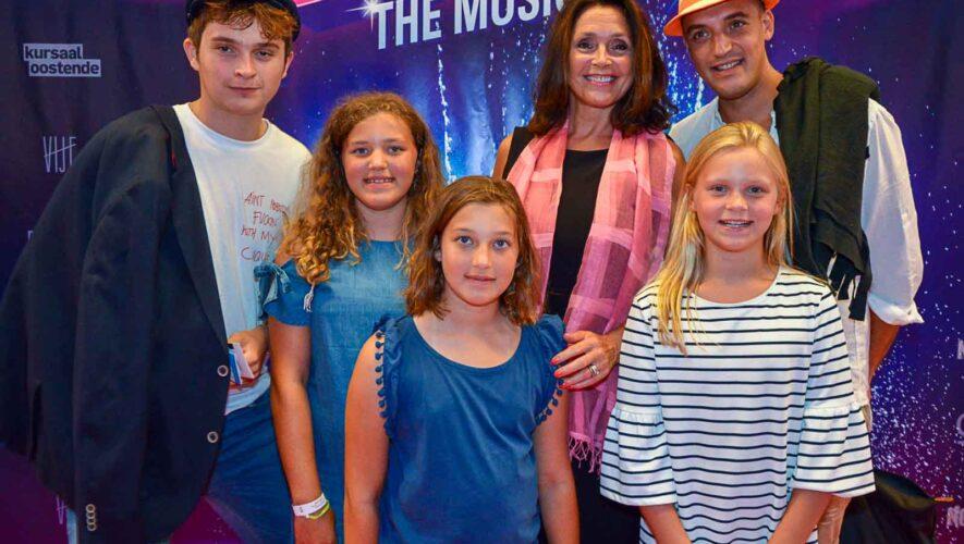 Wendy Van Wanten en haar gezin