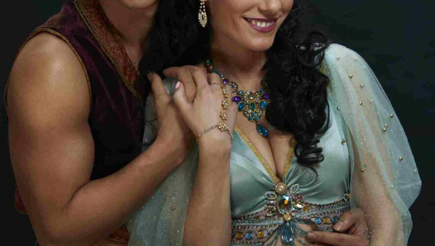 Aladdin en prinses Jasmine