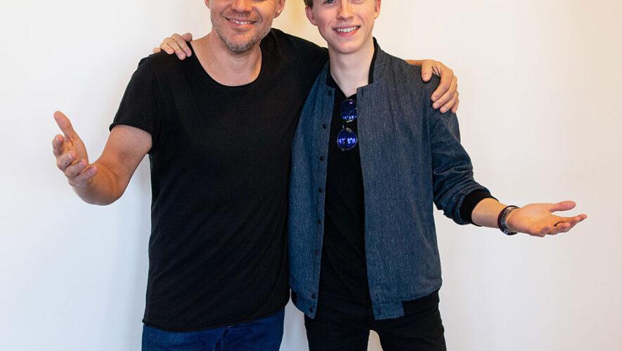 Eliot en Peter