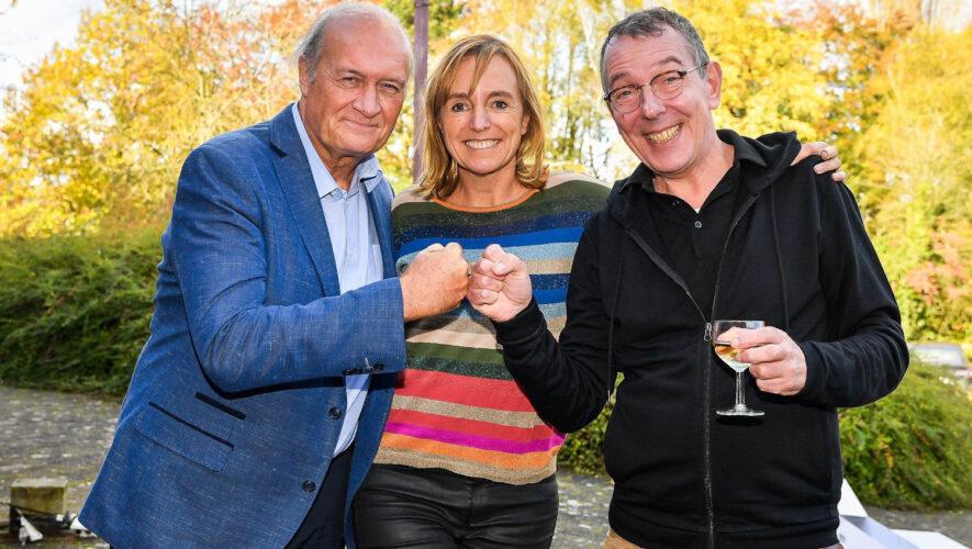 Jacques Vermeire, An Swartenbroekx, Herman Verbruggen