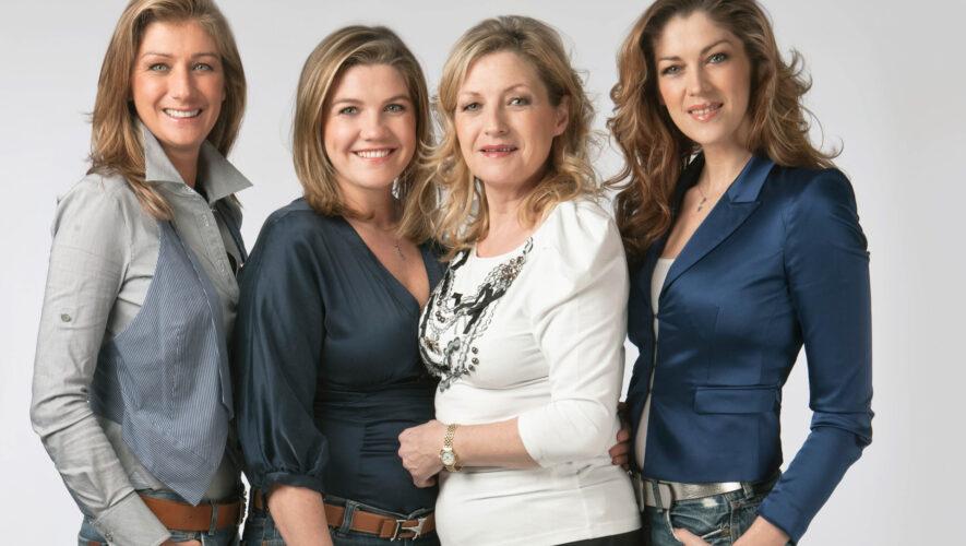 Debby Pfaff, Lyndsey Pfaff, Carmen Pfaff en Kelly Pfaff